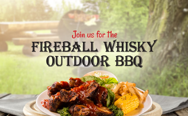 Fireball Whiskey Outdoor BBQ Event