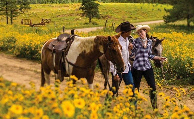 horseback riding is one of many great new mexico honeymoon ideas