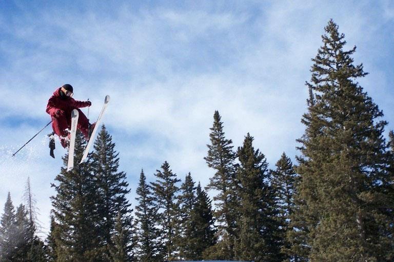 skier at ski apache