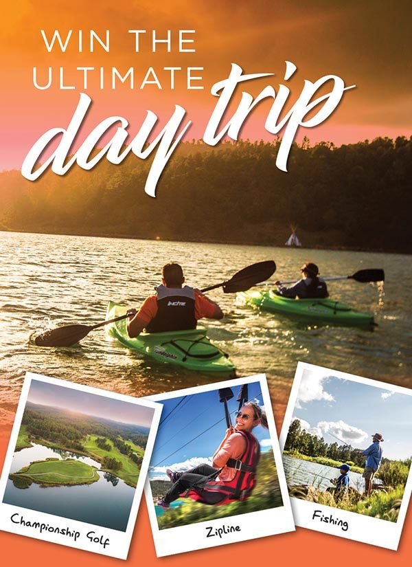 Win the ultimate day trip
