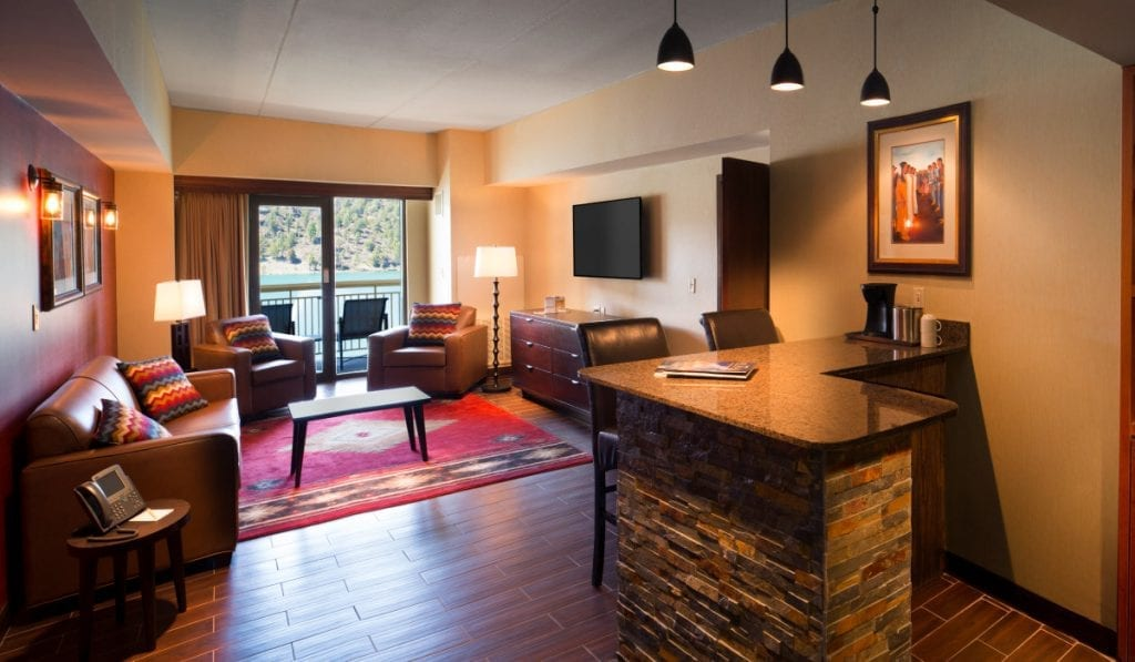 grand suite at inn of the mountain gods
