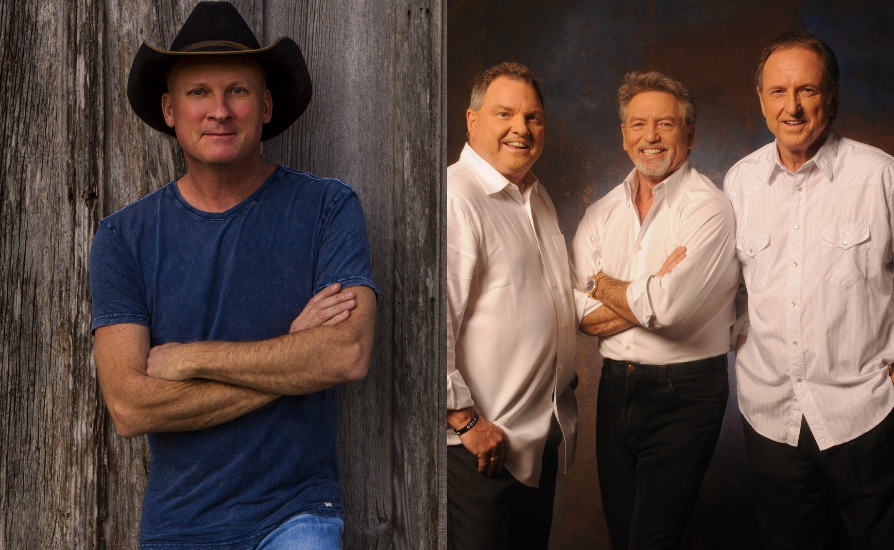Kevin Fowler with Larry Gatlin & The Gatlin Brothers