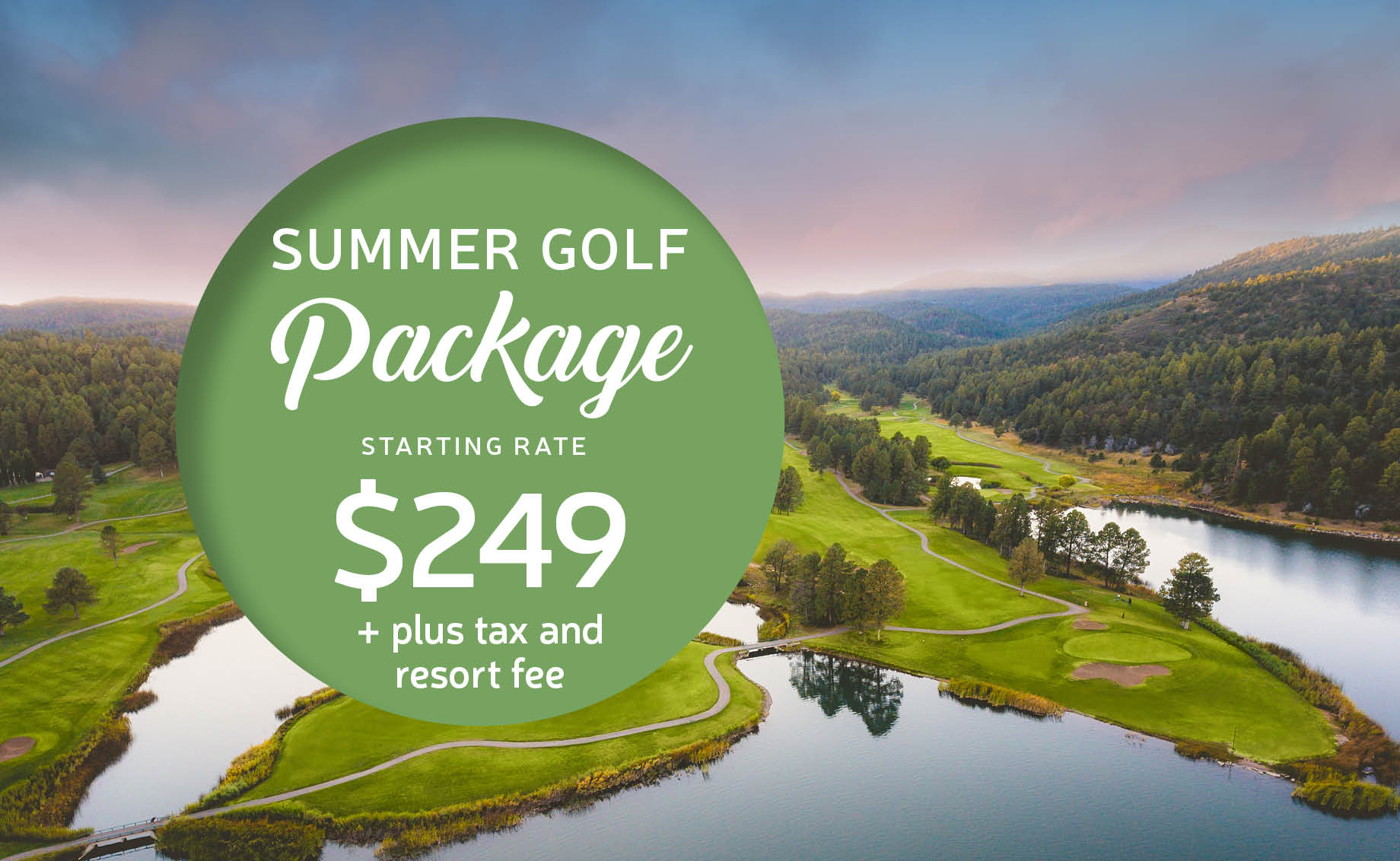 Summer Stay and Play Golf Package