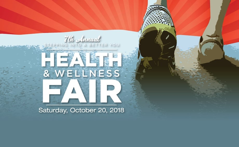 Stepping Into a Better You Health Fair