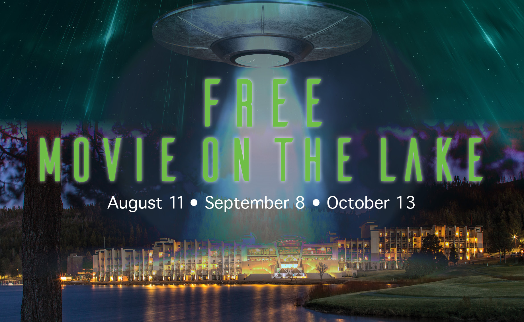 Movie on the Lake – 4th Kind