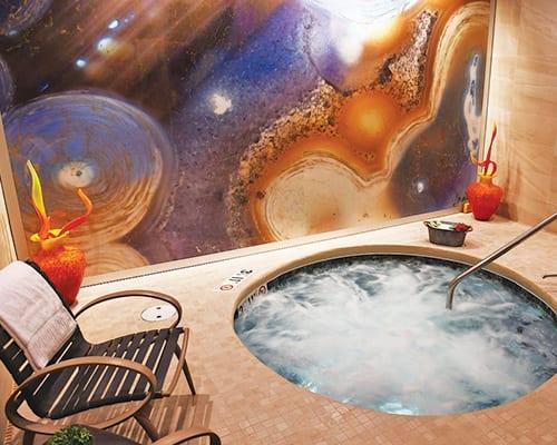 spa at the inn hot tub
