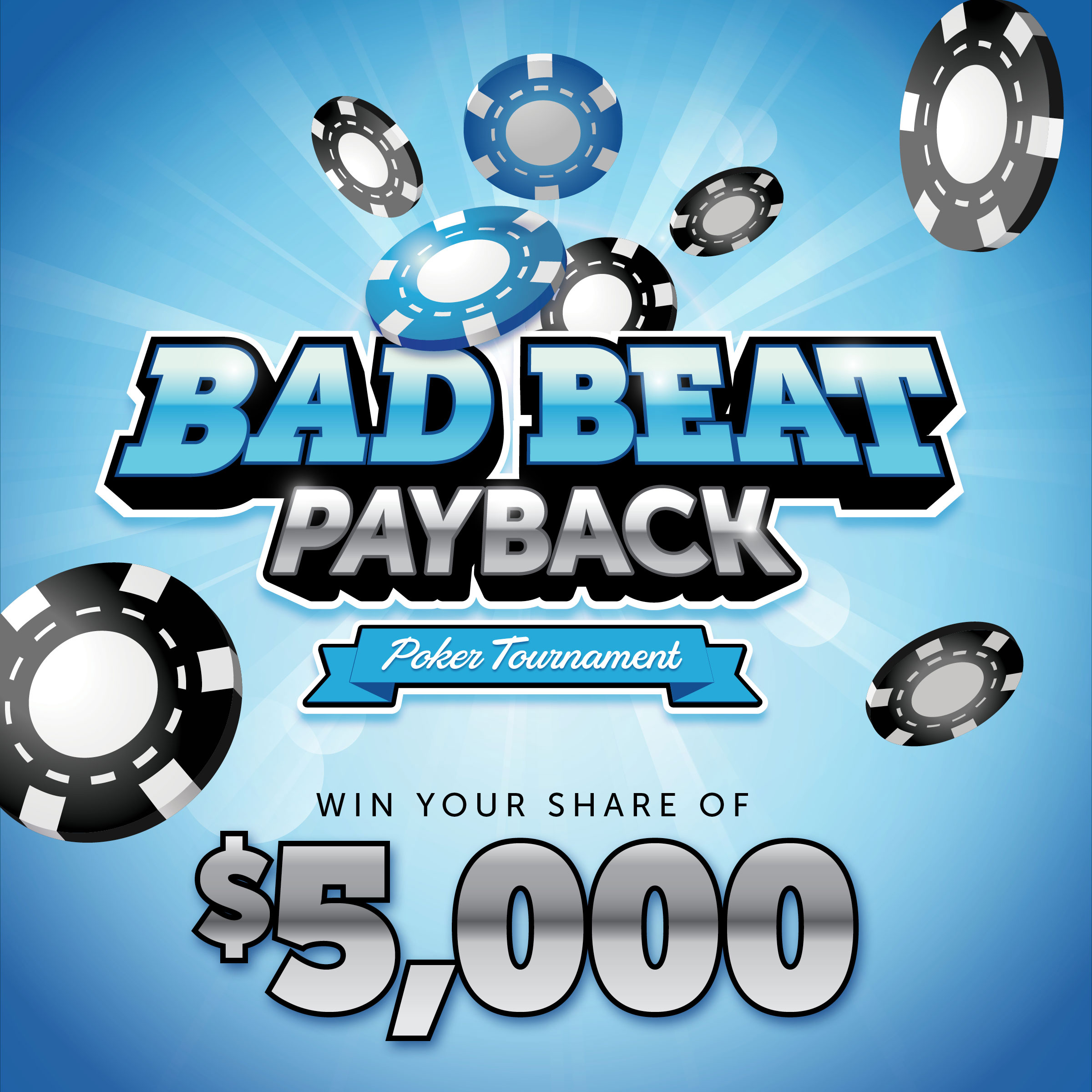 Bad Beat Payback Poker Tournament
