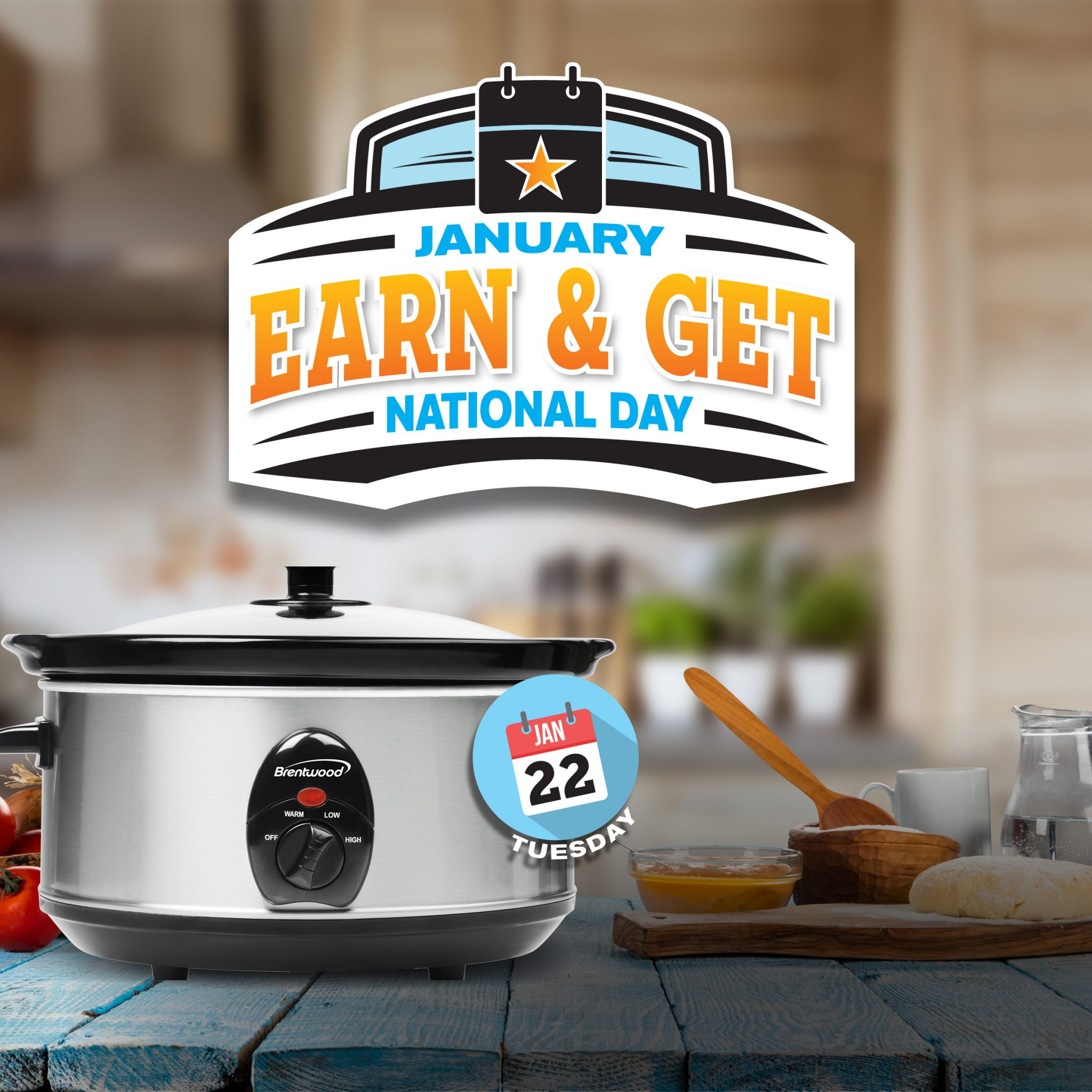 National Day Earn & Get – Slow Cooker