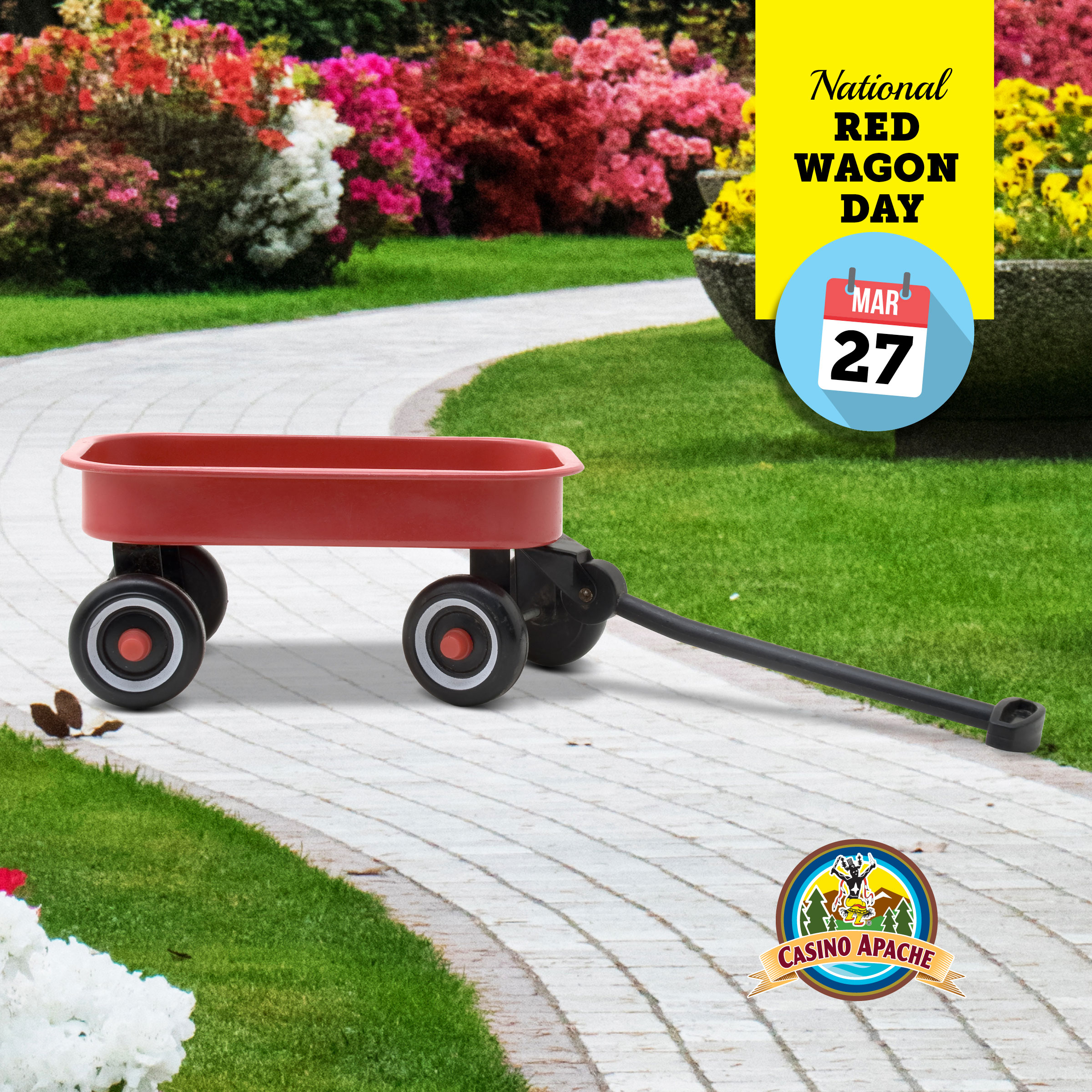 National Day Earn & Get – Red Wagon Day