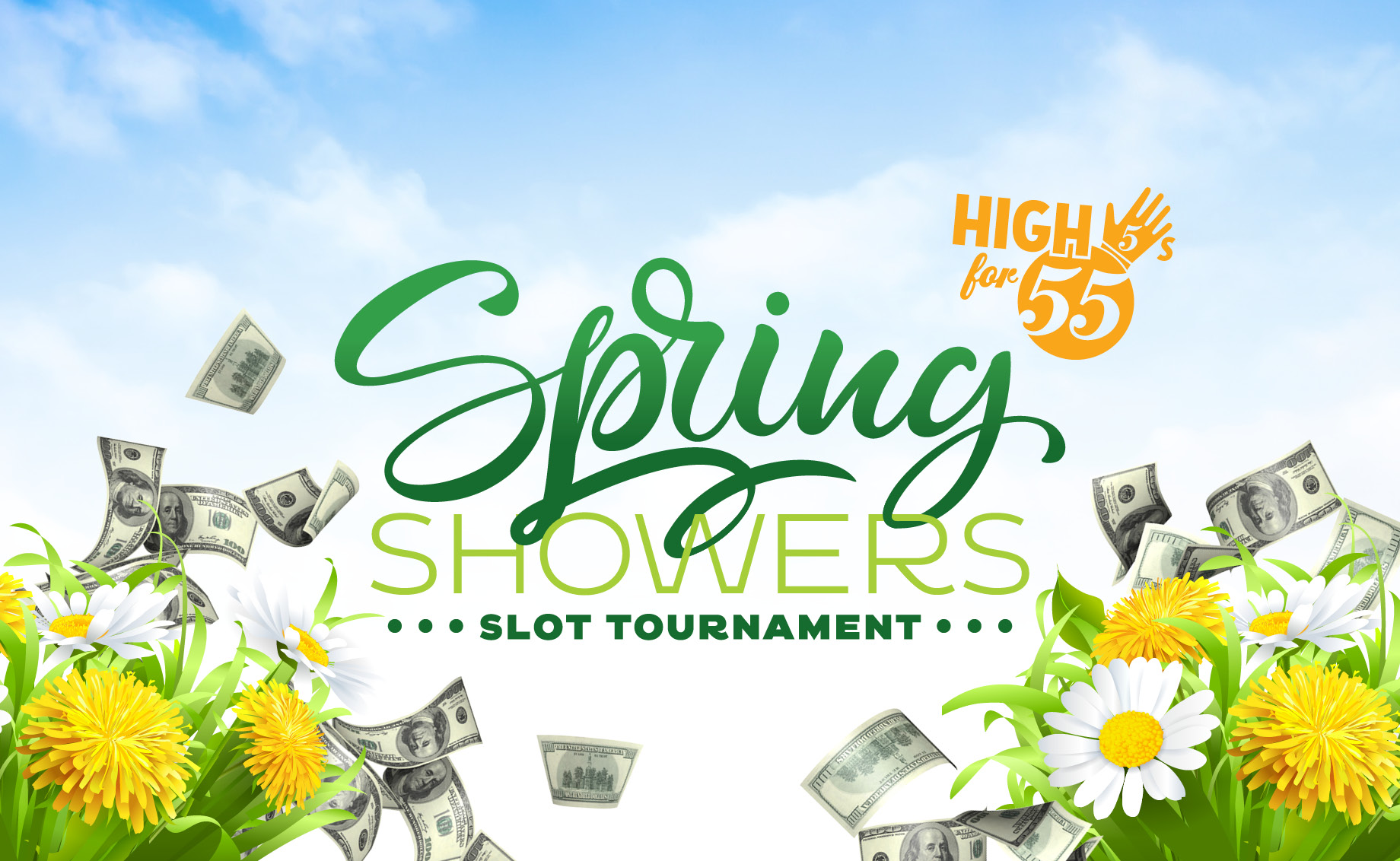 High 5's for 55 – Spring Showers