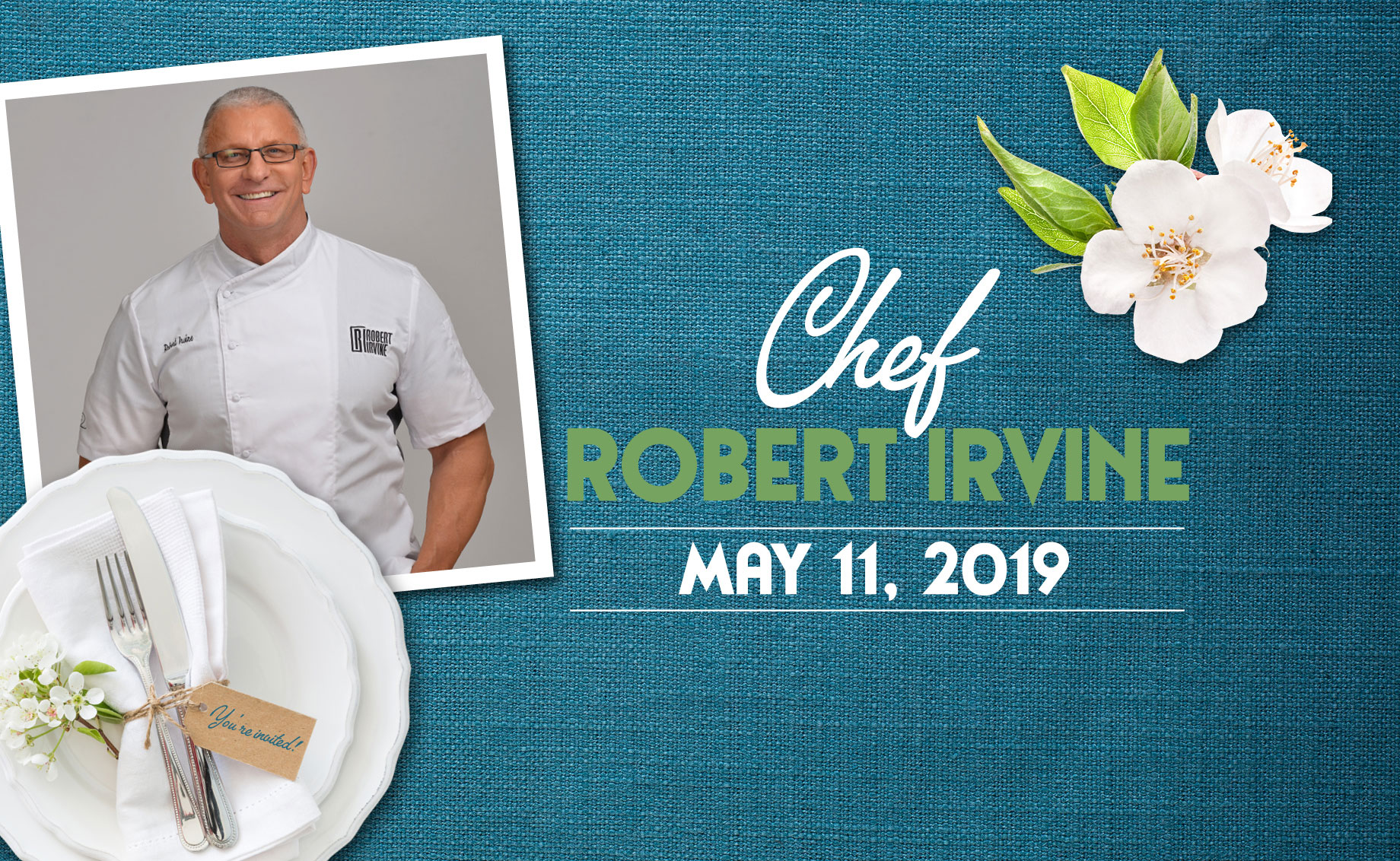 Chef Robert Irvine – LIMITED TICKETS AVAILABLE!