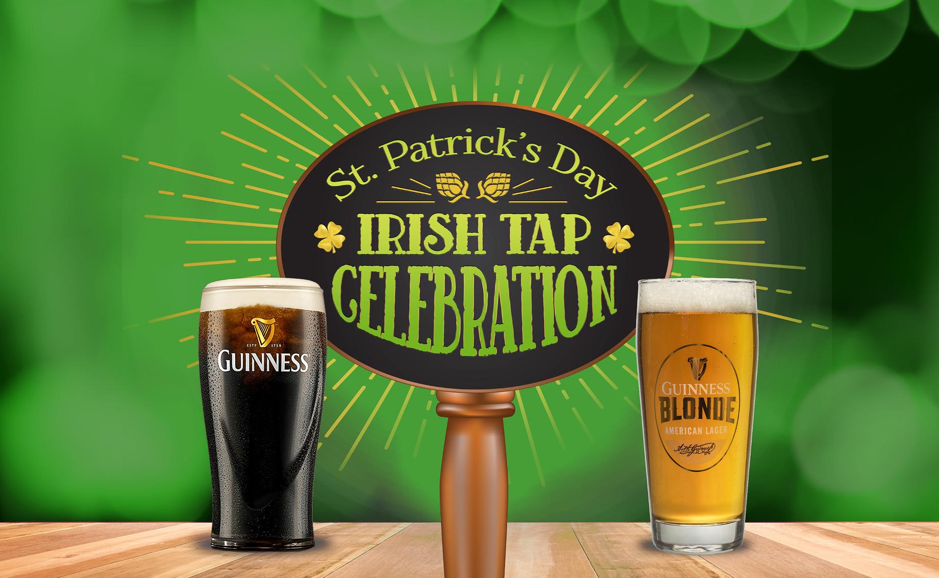 St. Patrick's Day Irish Tap Takeover