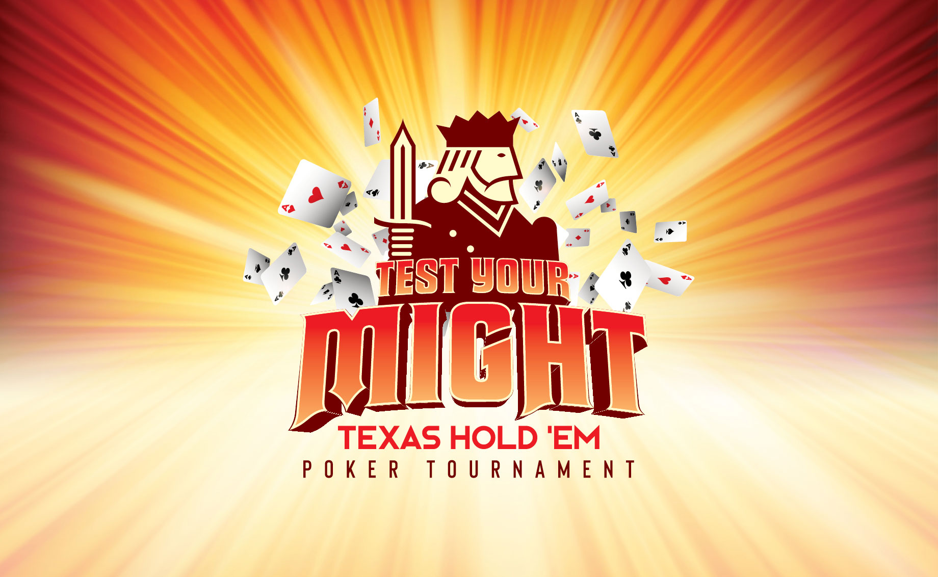 Test Your Might Texas Hold 'Em Poker Tournament