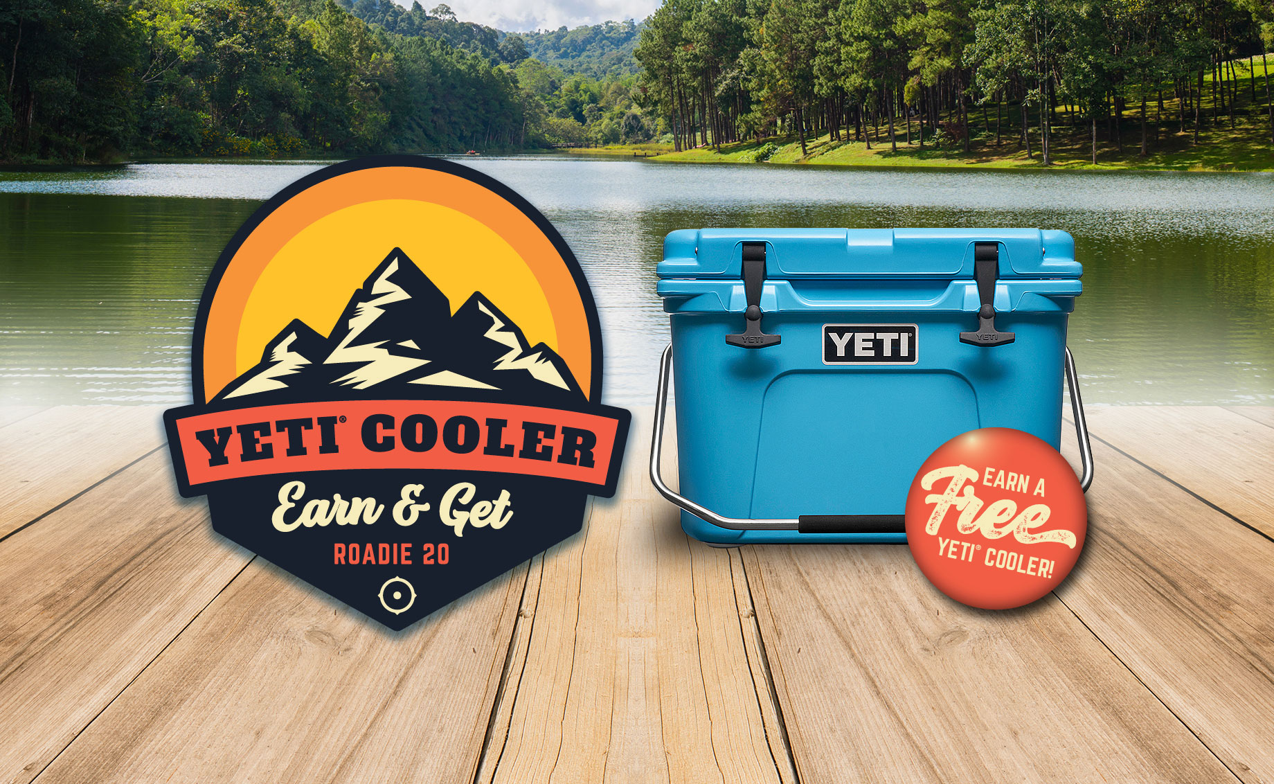 Yeti Roadie 20 Cooler Earn & Get – ALL YETI COOLERS DISTRIBUTED