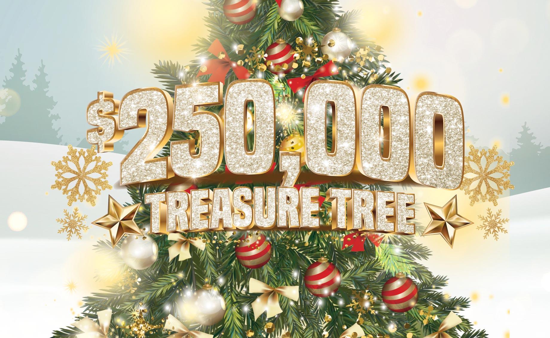 $250,000 Treasure Tree Giveaway