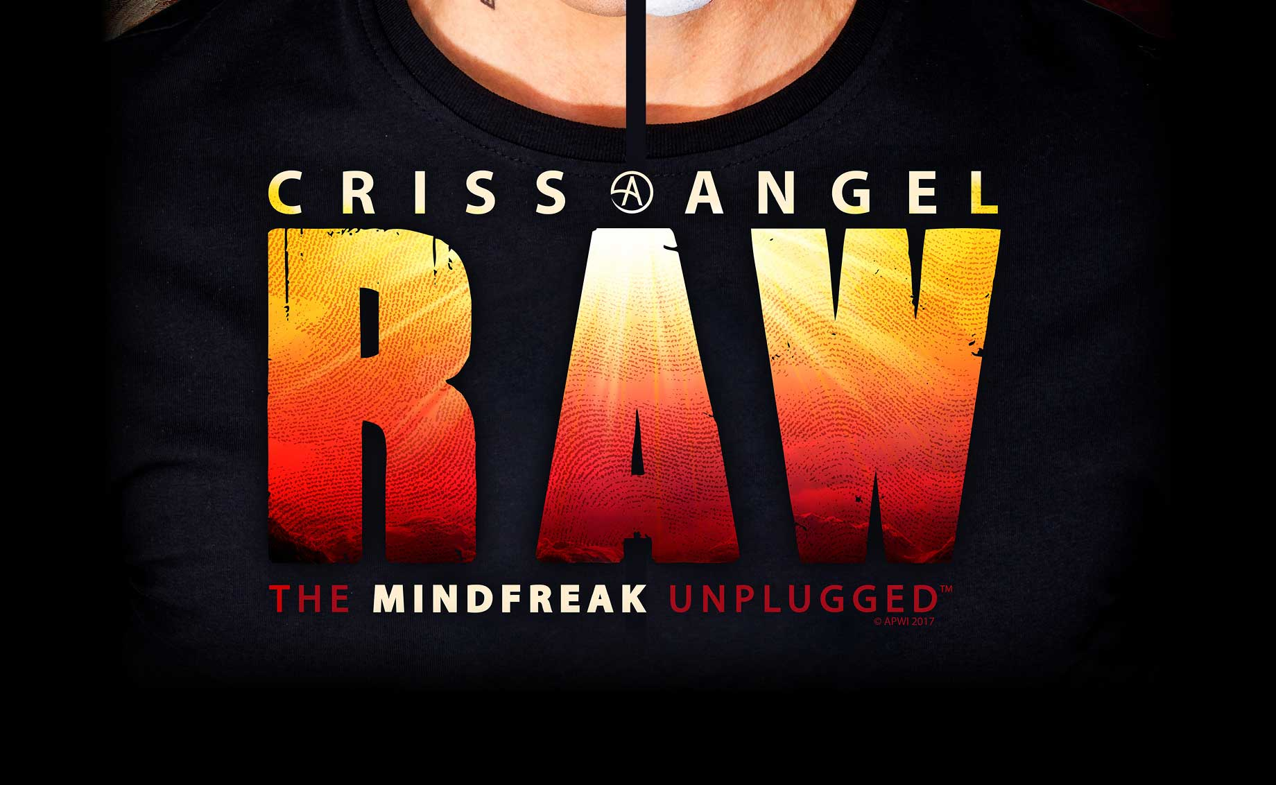SOLD OUT – Criss Angel RAW – The Mindfreak Unplugged