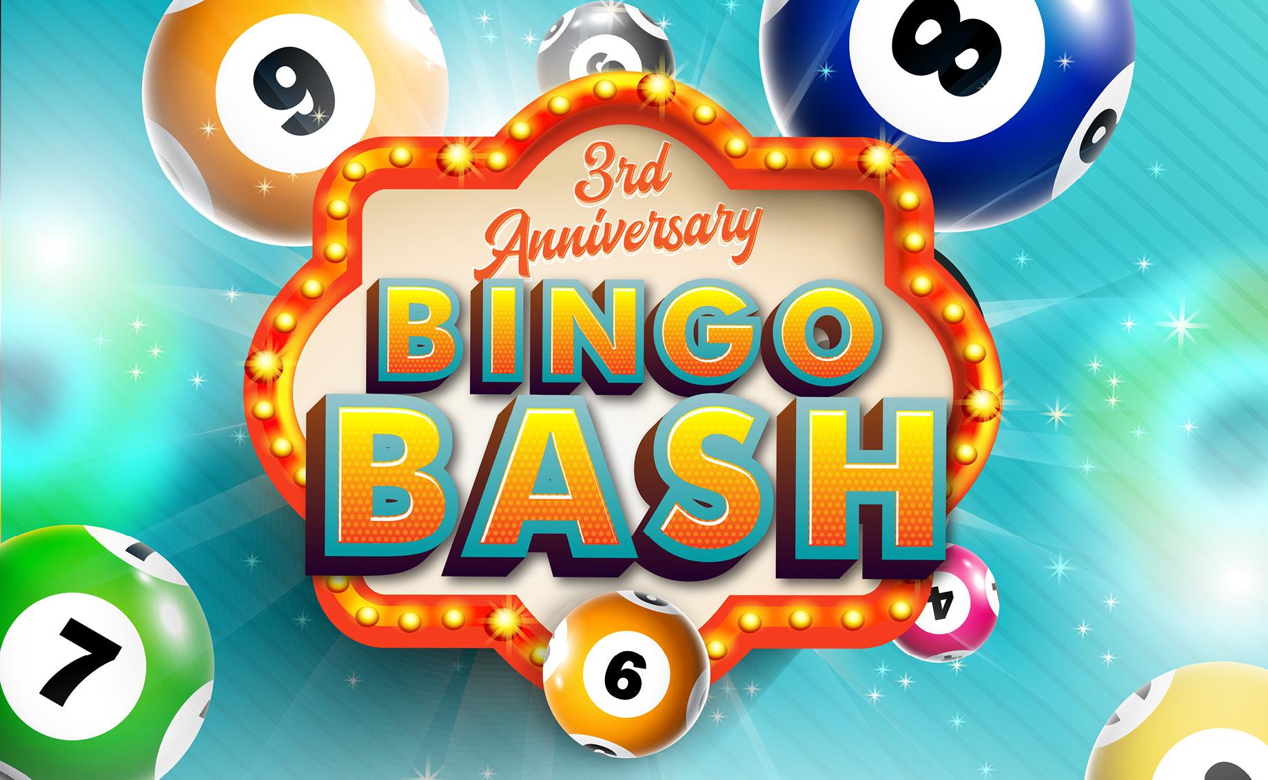 3rd Anniversary Bingo Bash