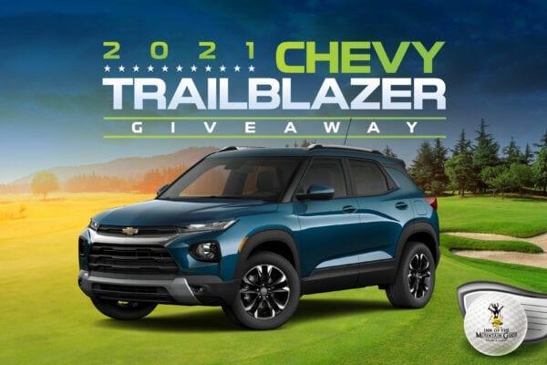 2021 Chevy Trailblazer Giveaway