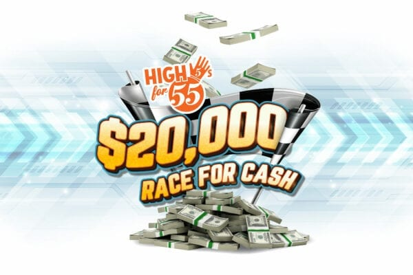 High 5s for 55s – Race for Cash