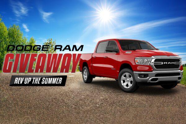Dodge Ram Giveaway – Rev Up the Summer