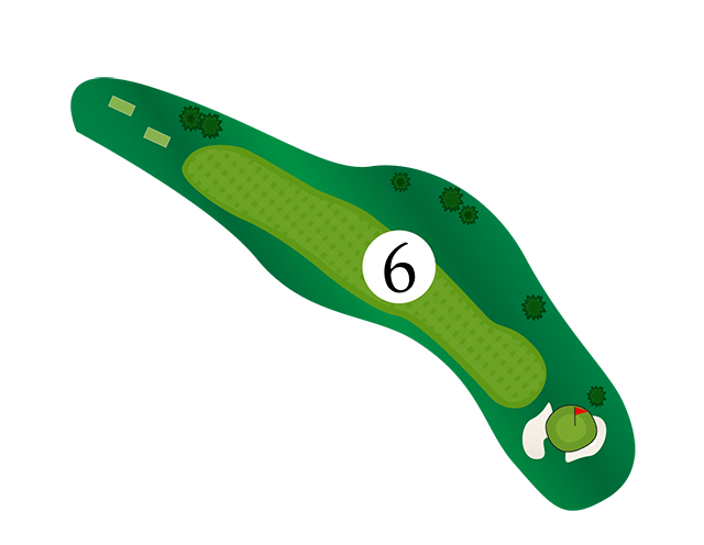 Inn of the Mountain Gods Hole 6 Diagram