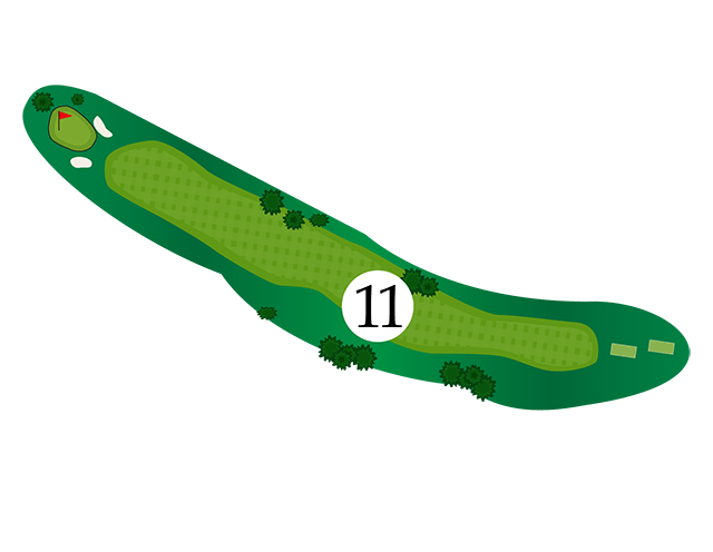 Inn of the Mountain Gods Hole 11 Diagram