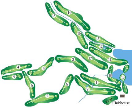 inn of the mountain gods golf course map